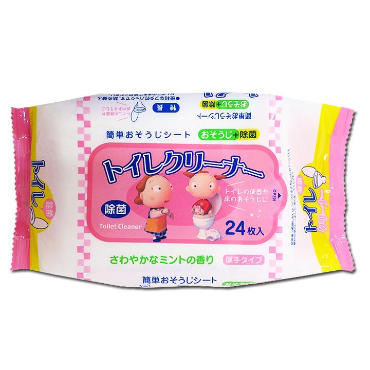 ミントの香りトイレクリーナー24個入り 120個セット(1c/s)