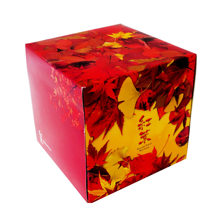 紅葉ティッシュ 70w 50個セット(1c/s) ★秋の販促品・記念品★