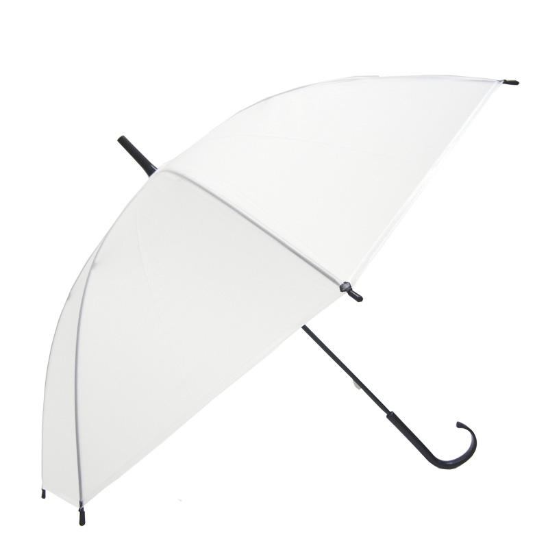 ビニール傘 50cm 乳白(エンボス) 黒骨 手開きタイプ 600本セット(10ケース)