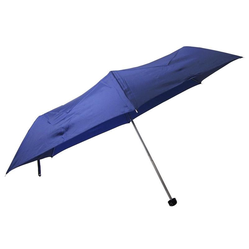 折りたたみ傘55cm 3段折傘 青 1本セット(サンプル)