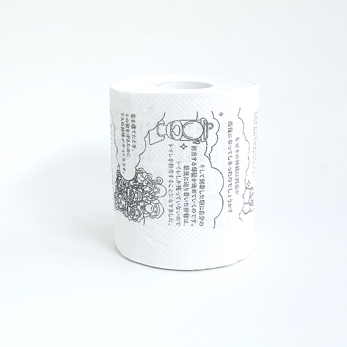 トイレの神様トイレットペーパー 1R 100個セット(1c/s)