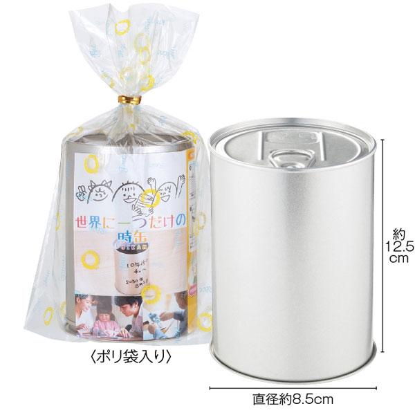 世界に一つだけの時缶 50個(1c/s)(2321650) タイムカプセル缶