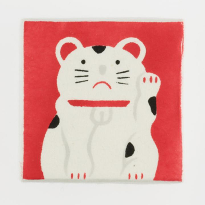 COVACO(コバコ) 箱入り飴 招き猫(小りんご) 60箱セット(10×6c/s)