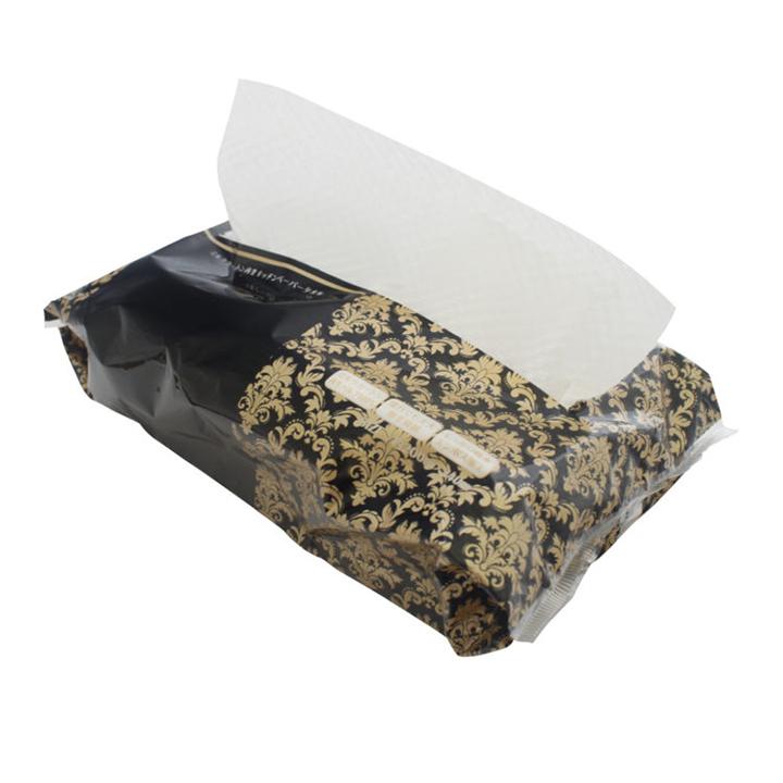 ミルクカートン再生キッチンペーパータオル60枚入 250個セット(5c/s)