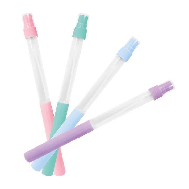 スプレー付きボールペン 4色混載 576個セット(0.5c/s)