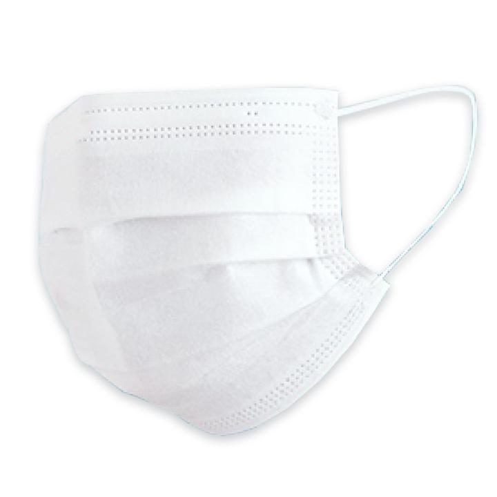 即納 ふんわり不織布マスク50枚入 【個包装】 【スリムボックス】 大人用 100枚セット(2箱)