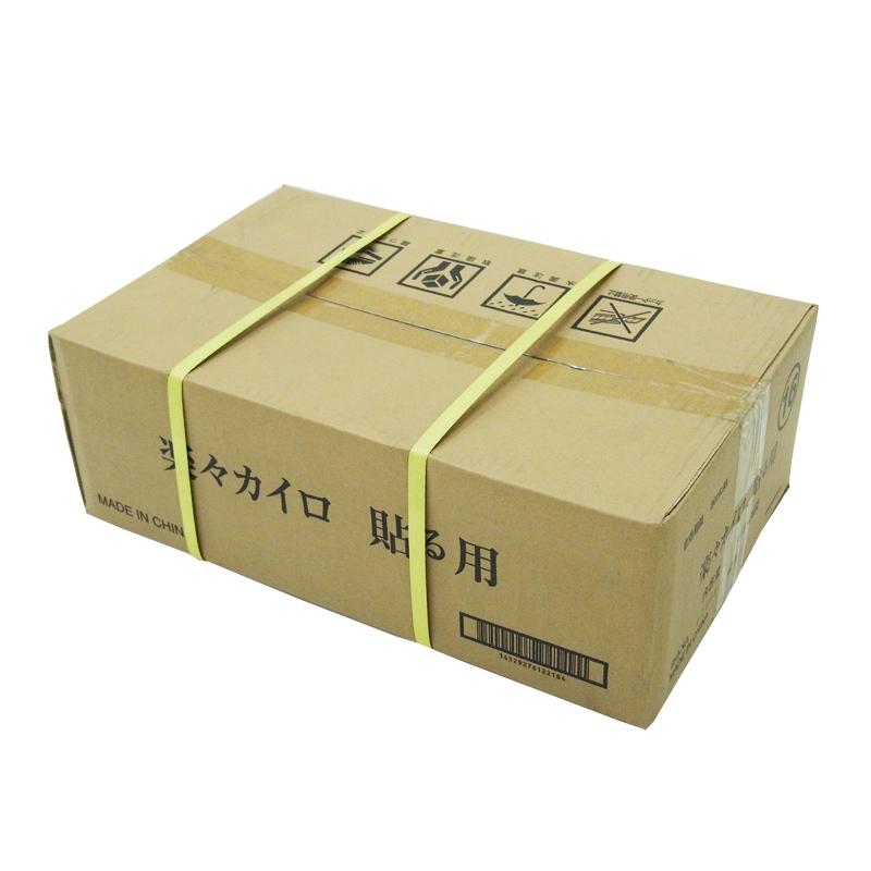 楽々カイロ 貼る レギュラーサイズ 120個セット(0.5c/s)(16F)