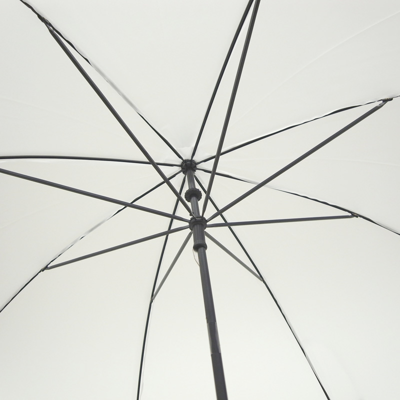 ビニール傘 50cm 乳白(エンボス) 黒骨 手開きタイプ 30本セット(0.5ケース)