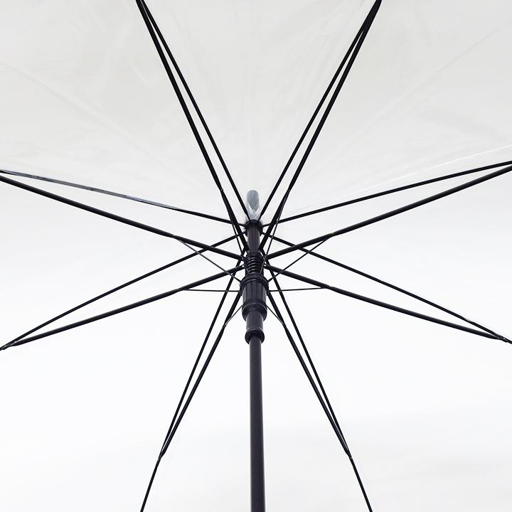 手元 名入れ印刷 65cmビニール傘 ジャンプ (1色×1ヶ所)