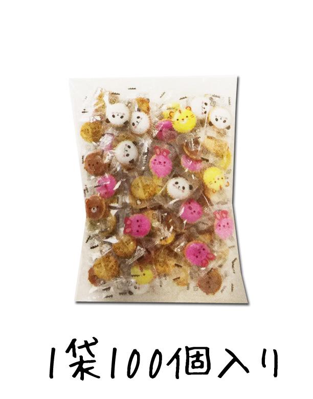 動物クラッカー 個包装 100個×5袋セット ★アニマルヨーチ★