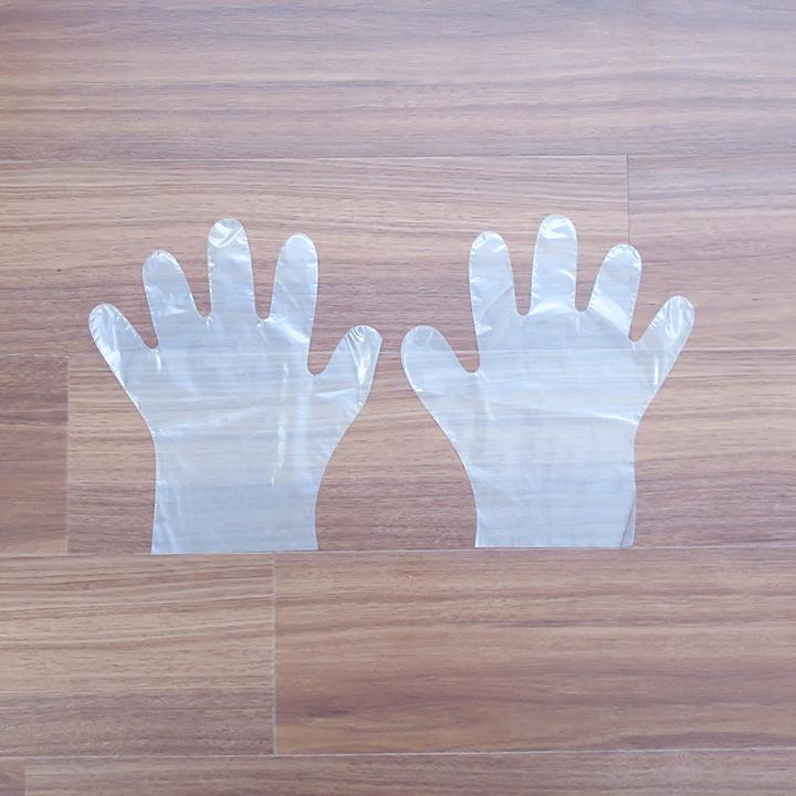 【出荷までにご注文から約2〜3週間】ポリ手袋 Mサイズ 10,000枚セット(1c/s)
