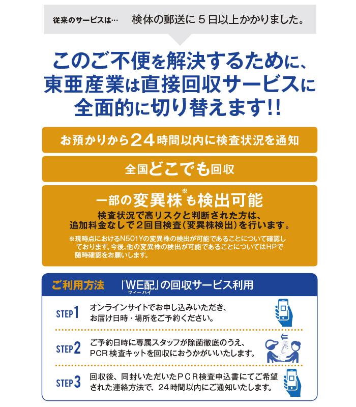 新型コロナウイルス PCR検査 唾液採取用検査キット 10個セット