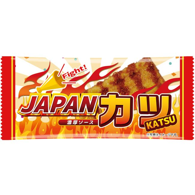日本応援 JAPANカツ 500個セット(1c/s)個包装お菓子