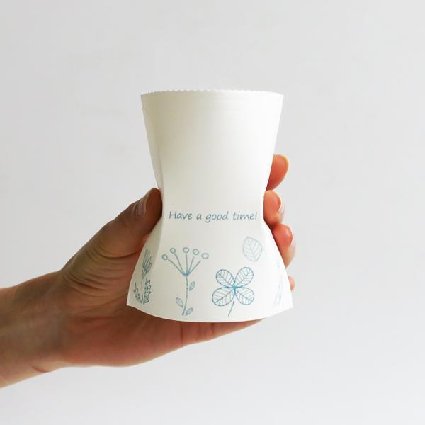 組立紙コップ バイオマス袋入 2,000個(1c/s)