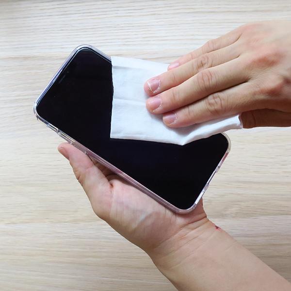 モバイルクリーナーウェット 5枚入×500個セット(1c/s)(000C3002)