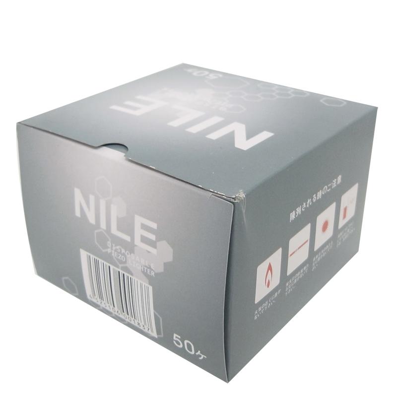 タイメリー NILE 50P プッシュ式ライター  1,000本セット(1c/s)