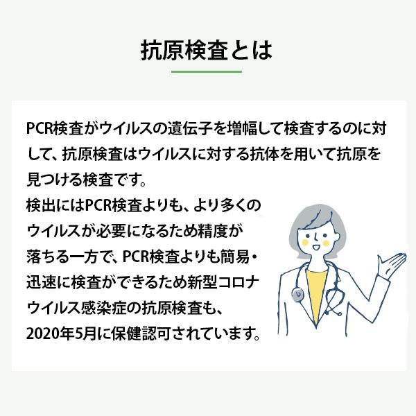 【即納】 自宅でできる抗原検査 MedQuick(メドクイック) 5個セット【メール便投函】