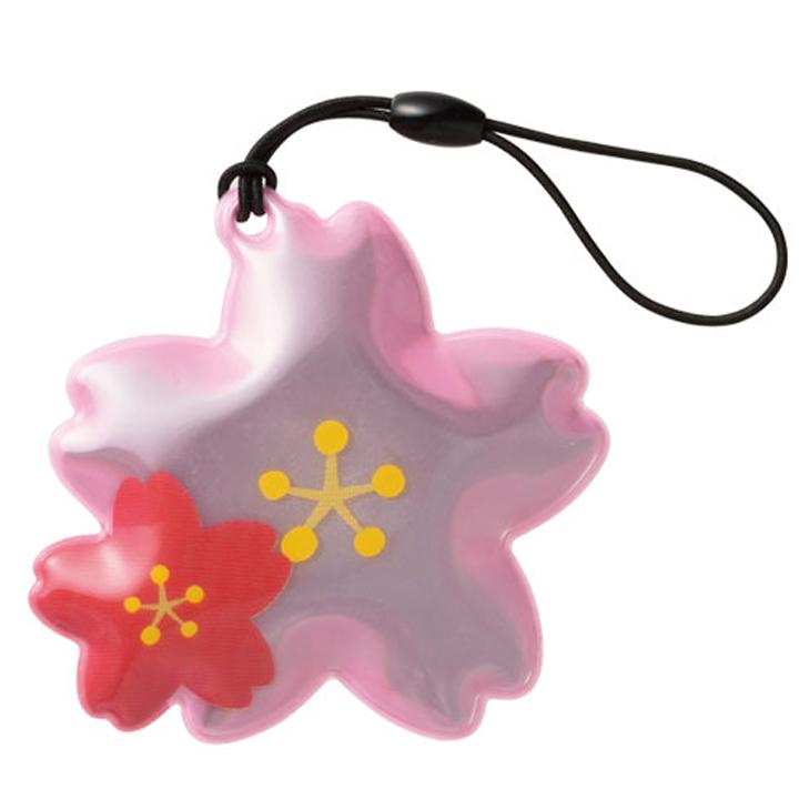 反射で安心!桜咲くリフレクター 100個(0515701)