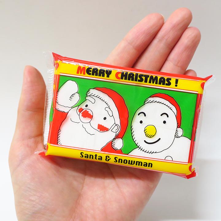 サンタ&スノーマン 10W ミニポケット 500個(1c/s) ★クリスマスポケットティッシュ★