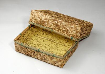 竹皮アジロ貼容器TAHY-6H