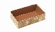 MXH-7H ハイブリッド容器 (本体 170×100×50mm) 竹皮 上品 菓子/雑貨/弁当箱
