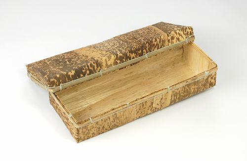 竹皮を貼合わせ素朴さ表現  孟竹容器MSYN-4H