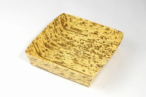 竹皮紙容器PTY-145-S(本体のみ)