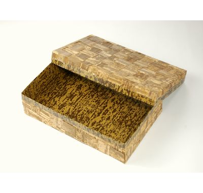 TXH-210H ハイブリッド容器 (50個パック) 竹の皮 売れ筋 弁当/ギフト/菓子箱