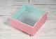 ほんわか折箱 HWO-132(ピンク)    発泡折箱/紙ふた