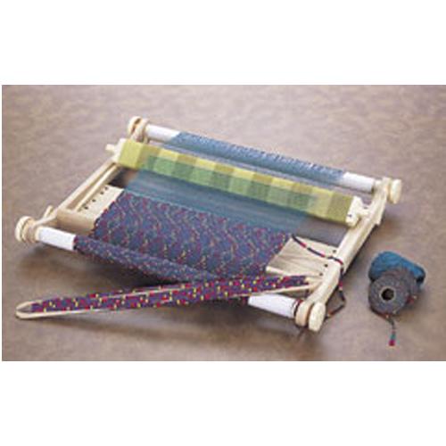手織り機「咲きおり」60cm(40羽セット)(織物 織り物 ハンドメイド コースター マット ラグ 手作り 入園 入学 手芸 裁縫 裁縫道具)
