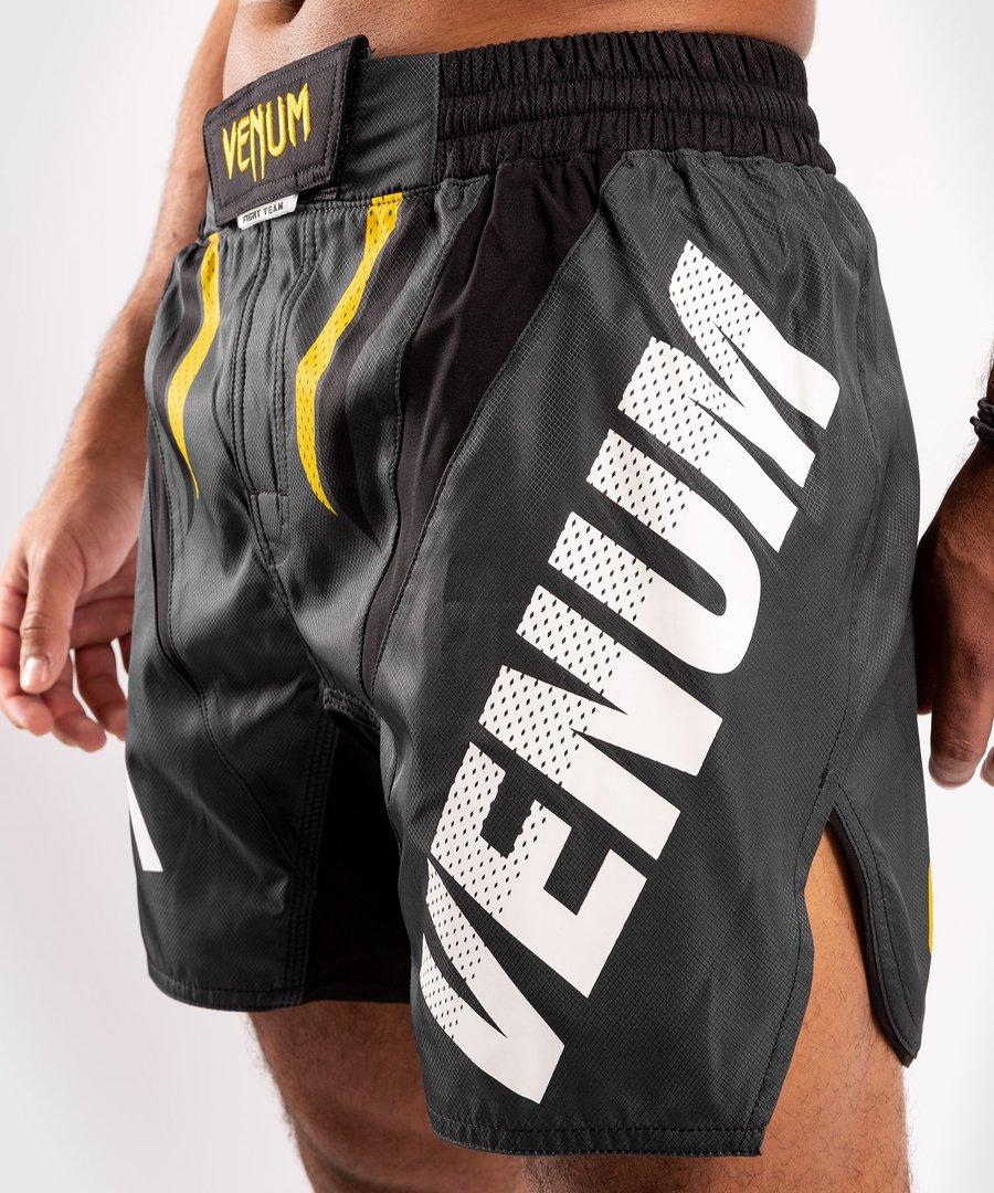 VENUM ONE FC IMPACT FIGHTSHORTS(Grey/Yellow)