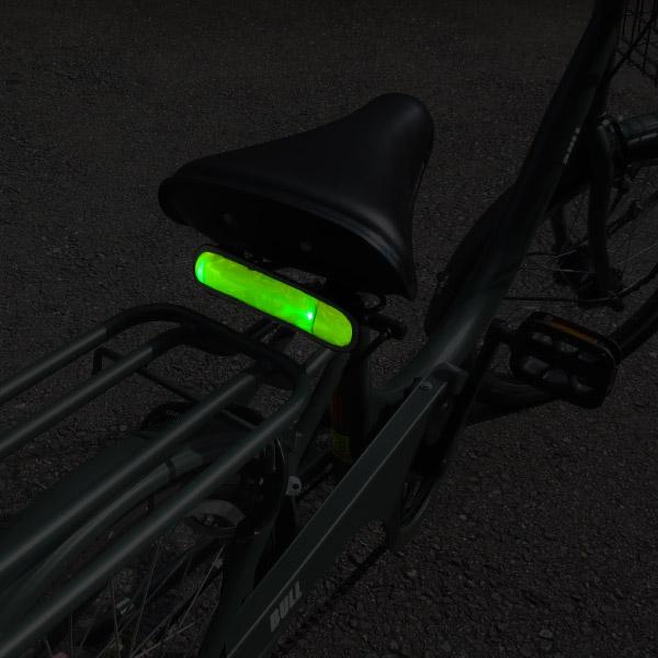 LEDセーフティーバンド ワンタッチ式 ボタン電池交換式