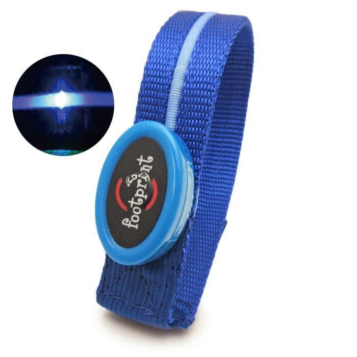 LEDアームバンド きらきら光る腕章 マッジックテープ長さ調節可能