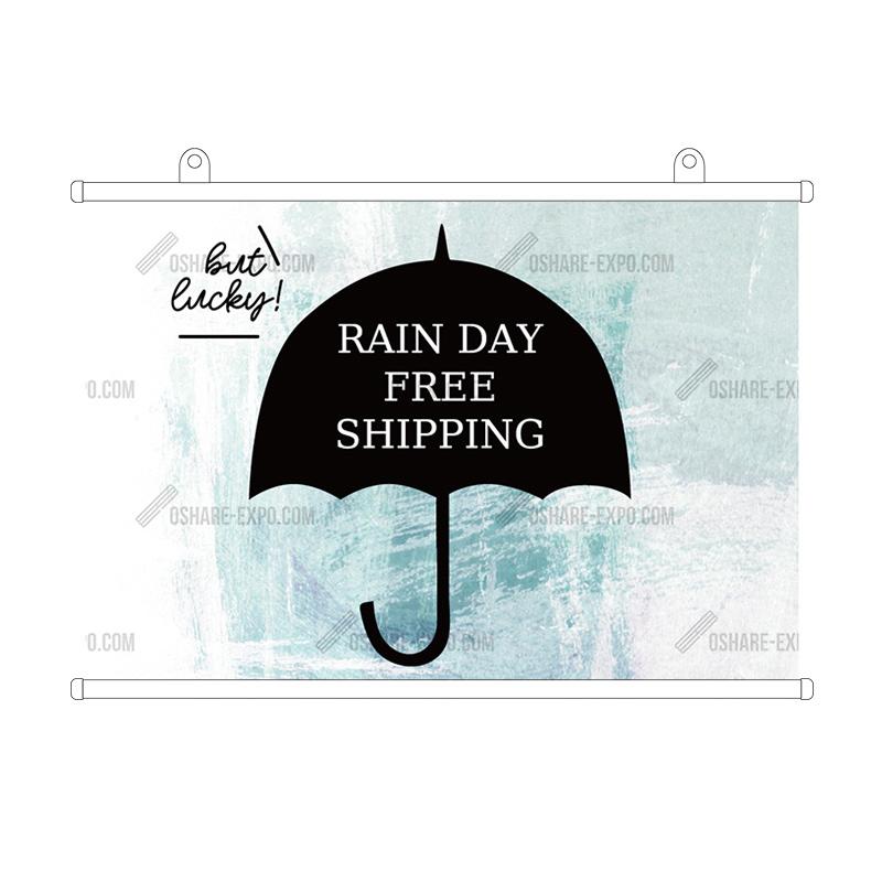 アンブレラ 雨の日送料無料 タペストリー