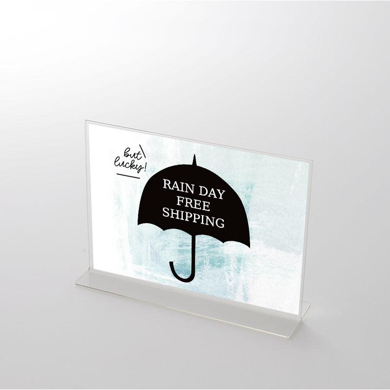 アクリルスタンドセット アンブレラ 雨の日送料無料ポップ