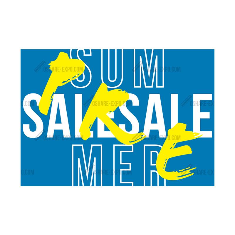 アクリルスタンドセット SUMMER用 PRE SALEポップ②