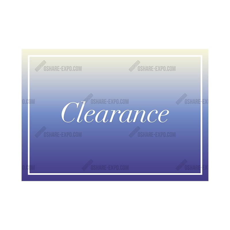 アクリルスタンドセット グラデーション CLEARANCEポップ