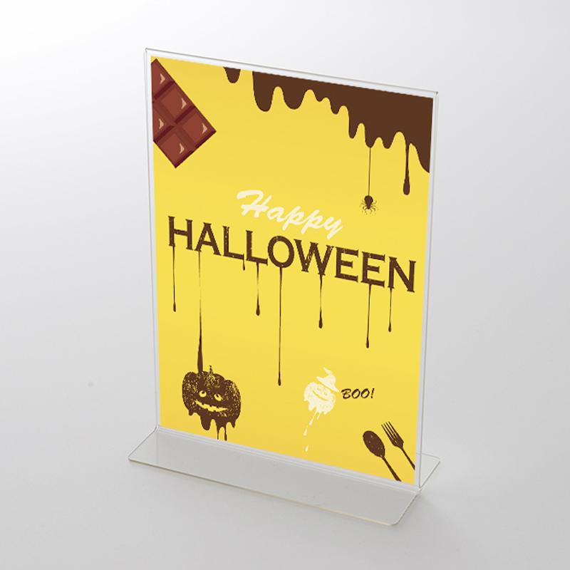 アクリルスタンドセット チョコレート柄 ハロウィンポップ