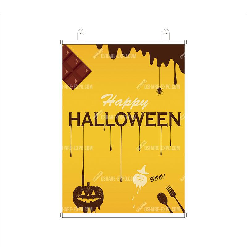 チョコレート柄 ハロウィン タペストリー