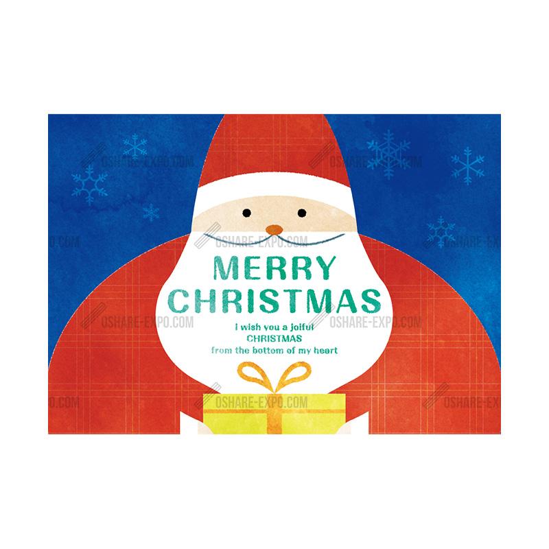 サンタクロース クリスマスポップ・ポスター①