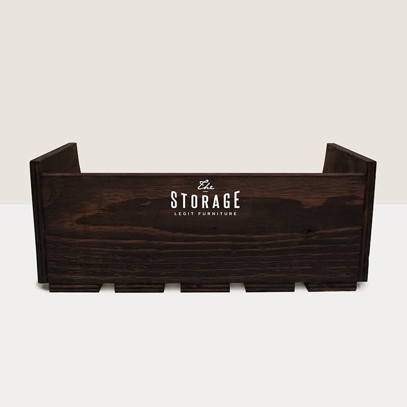 スタッキング什器3個セット 棚タイプ「the STORAGE」デザイン 小