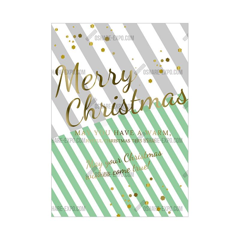 ラッピングテイスト クリスマス ポップ・ポスター