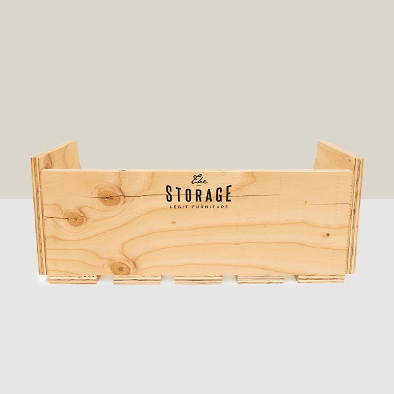 スタッキング什器3個セット 棚タイプ「the STORAGE」デザイン 中