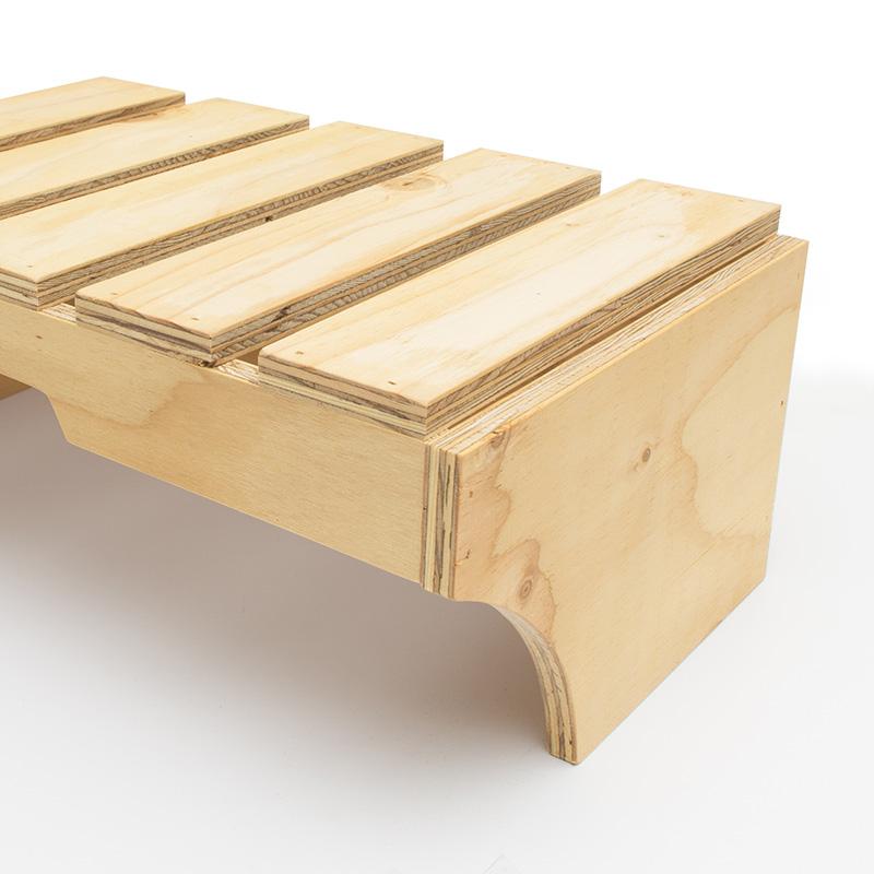 スタッキング什器3個セット 棚タイプ「stack it」デザイン  中