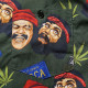 【お取り寄せ】 Middle of Beyond 半袖シャツ Cheech & Chong's Up in Smoke