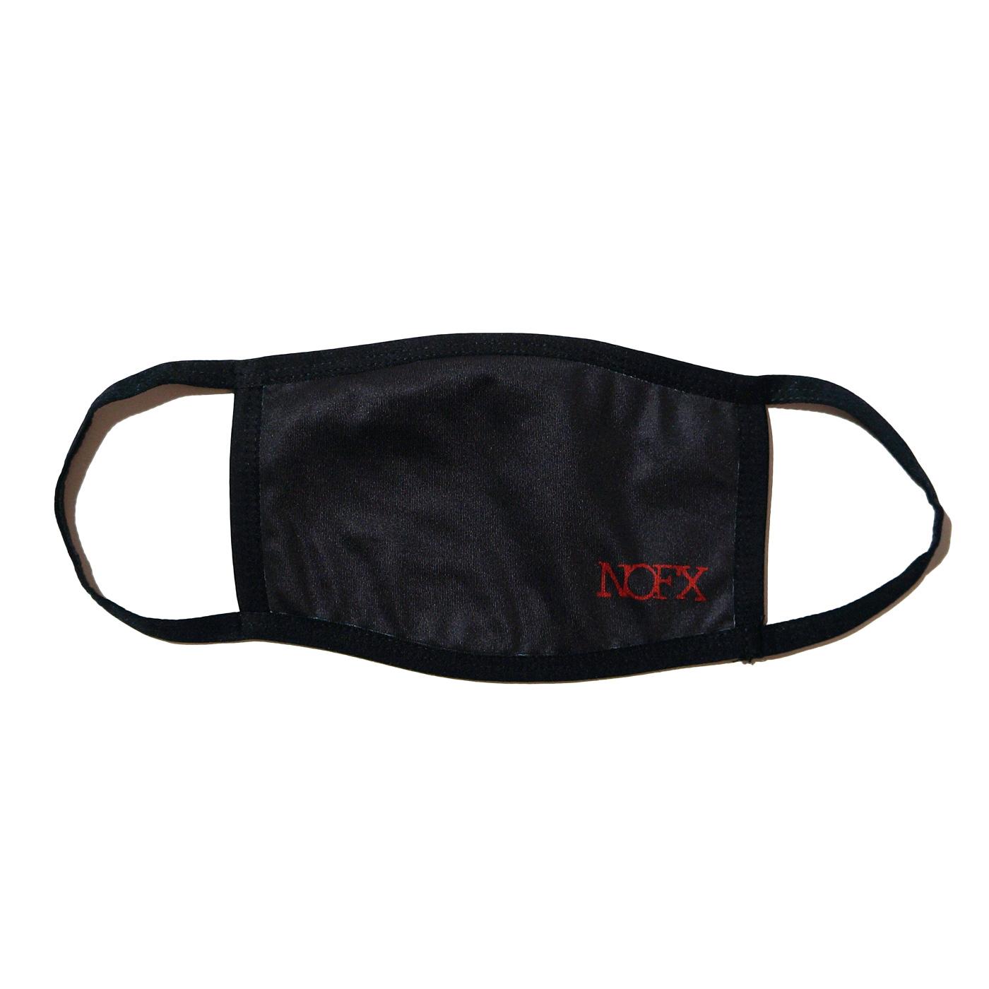 (SALE)NOFX フェイスマスク Mask Red Logo-Black