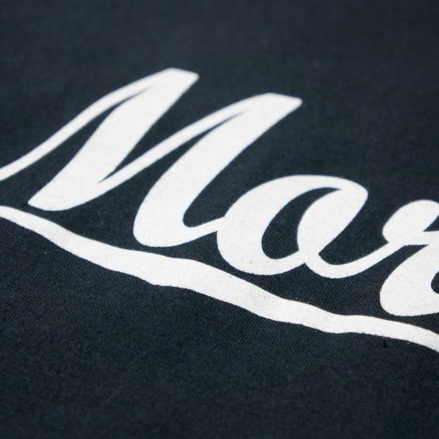 MORRISSEY(モリッシー) Tシャツ Text Logo-Black