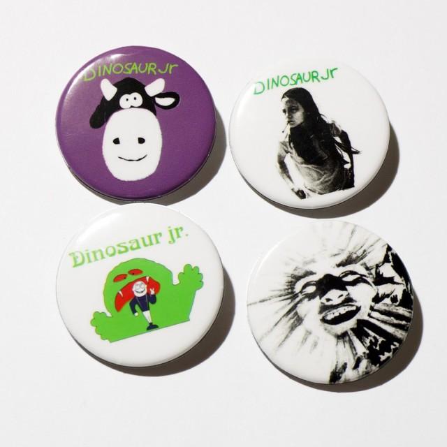 Dinosaur Jr. 缶バッジ 4 Button Pack (4個セット)