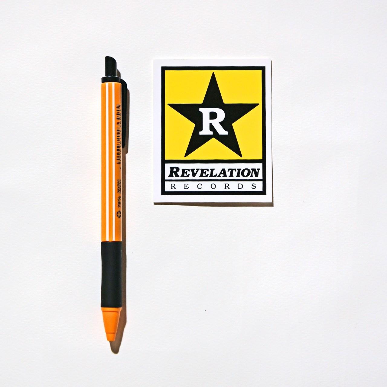 REVELATION RECORDS ステッカー Logo-Small