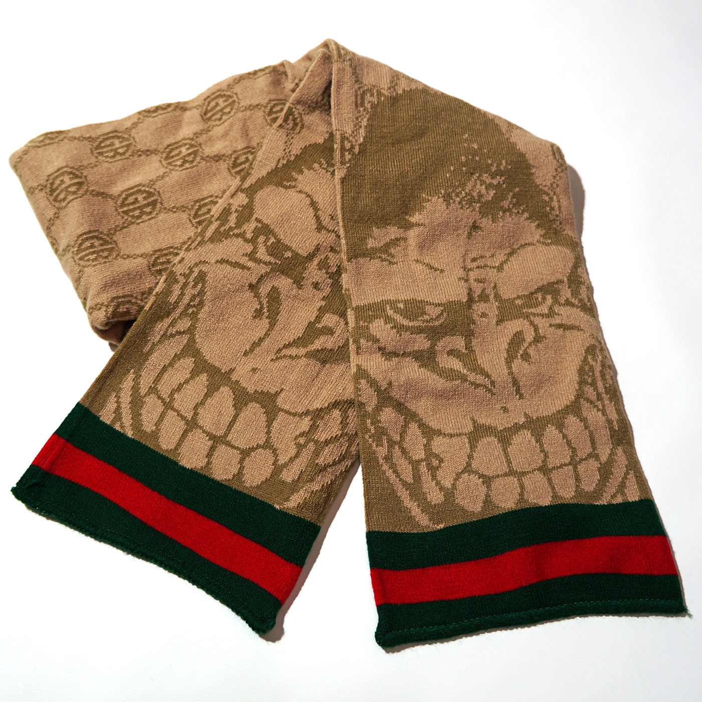 GORILLA BISCUITS スカーフ Gucci Scarf